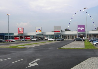 Fachmarktzentrum Fürstenfeld - Frontansicht