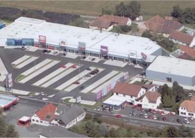 Fachmarktzentrum Fürstenfeld - Luftaufnahme