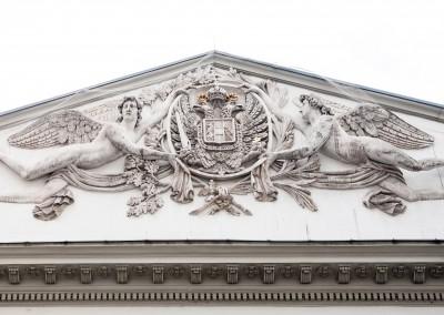 Fleischmarkt 19, Wien 1.Bezirk - Detail Fassade