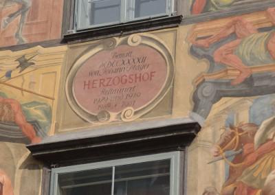 Herzogshof Graz - Detail Fassade