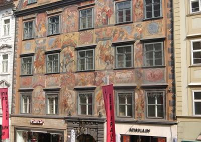 Herzogshof Graz - Fassade