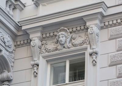 Motel One Staatsoper - Fassade/Detail
